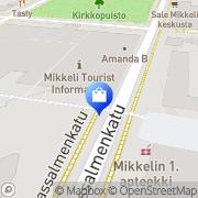 Kartta Taito Shop Mikkeli Mikkeli, Suomi