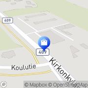 Kartta Kyläkäki Suomenniemi, Suomi