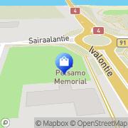 Kartta Ivalon Silmäasema Oy Ivalo, Suomi