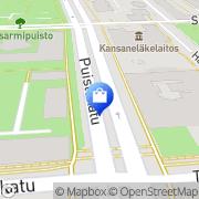 Kartta Vaatepuoti Kuopio, Suomi
