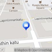 Kartta Seppälä myymälä Kuopio, Suomi