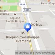 Kartta Scorpion Store Kuopio, Suomi