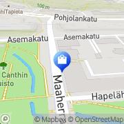 Kartta Andé Kuopio, Suomi