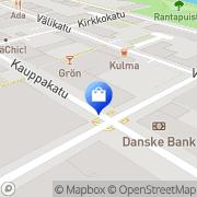 Kartta Kenkäkauppa Step-In Kajaani, Suomi