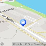Kartta H& P Koti Kajaani, Suomi
