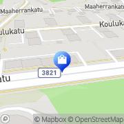 Kartta Soundwell Oy Musiikkikauppa Lappeenranta, Suomi