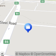 Map Knorr-Bremse S.A. Pty. Ltd. Spartan, South Africa