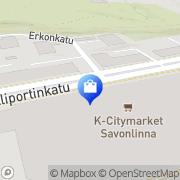 Kartta Manninen Juha Tmi Savonlinna, Suomi