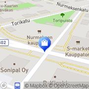 Kartta Nuotivo Oy Nurmes, Suomi
