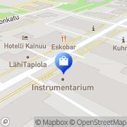 Kartta Kuhmon apteekki Kuhmo, Suomi