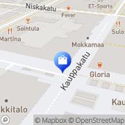 Kartta Kukkakauppa Avalanche Joensuu, Suomi