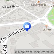 Carte de Fgi Soissons, France
