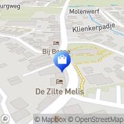Kaart Joosse Meliskerke Meliskerke, Nederland