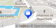 Kaart Klavertje Vier Bloemen-Kadowinkel Burgh-Haamstede, Nederland