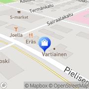 Kartta Lieksan taitokeskus Lieksa, Suomi