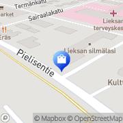 Kartta Halitex Lieksa, Suomi