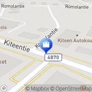 Kartta Jii Tex Oy Kitee, Suomi