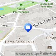 Carte de Le Thiers Reims, France