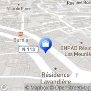Carte de Vm 113 Lunel, France
