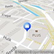 Kaart Primera Van der Ham Brielle, Nederland