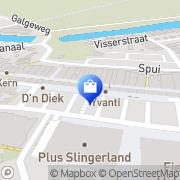 Kaart Curious Eigenzinnige Damesmode Middelharnis, Nederland
