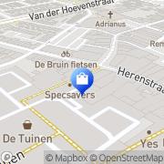 Kaart Adam Menswear Naaldwijk, Nederland