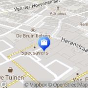 Kaart Tiron Schoenen Naaldwijk, Nederland