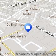 Kaart McGregor Shop Naaldwijk, Nederland