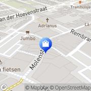 Kaart DP Versmarkt Naaldwijk, Nederland