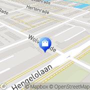 Kaart Univitaal Den Haag, Nederland