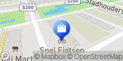 Kaart Snel Fietsen Den Haag Den Haag, Nederland