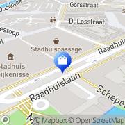 Kaart HEMA Spijkenisse Spijkenisse, Nederland
