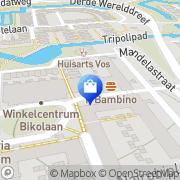 Kaart Primera Bouter Delft, Nederland