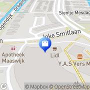 Kaart Multishop Spijkenisse, Nederland