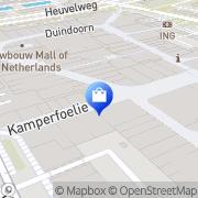 Kaart Dalen Van Leidschendam, Nederland
