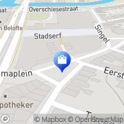 Kaart Kusters Digitale Videoproducties Schiedam, Nederland