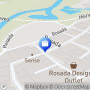 Kaart Hunkemöller Roosendaal Rosada Outlet Roosendaal, Nederland