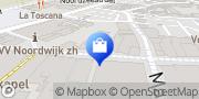 Kaart Pallas-Optiek Noordwijk-Binnen, Nederland