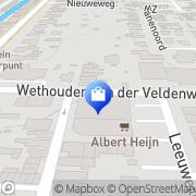 Kaart Albert Heijn Numansdorp, Nederland