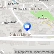 Kaart Speelgoed van Garderen Klaaswaal, Nederland