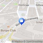 Kaart Slingerland & Zn Fa J van Rotterdam, Nederland