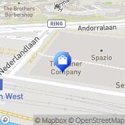 Kaart Men at Work Zoetermeer, Nederland