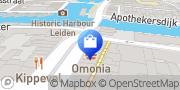 Kaart Van Ruiten & Zn BV Leiden, Nederland