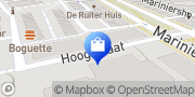 Kaart Loppers Company Rotterdam, Nederland
