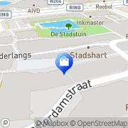 Kaart Superstar Damesmode Zoetermeer, Nederland