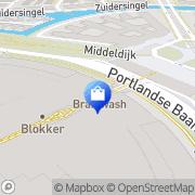 Kaart HEMA Barendrecht, Nederland