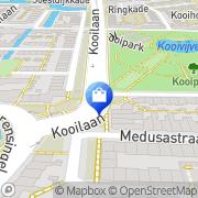 Kaart Kooi Totaalgemak De Leiden, Nederland