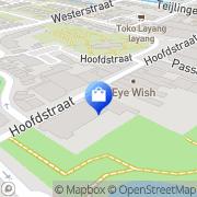 Kaart Melman Business and Casuals Sassenheim, Nederland
