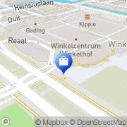 Kaart Nina Taetes/Eva Mode Leiderdorp, Nederland
