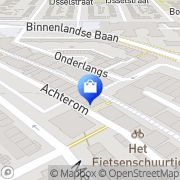 Kaart Smit Mode Alblasserdam BV Barendrecht, Nederland